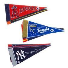 MLB MAJOR LEAGUE BASEBALL ~ Complete Set of 30 Mini Pennant Team Banner Flag