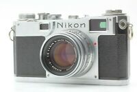 【Almost MINT】 Nikon S2 Rangefinder w/ Nikkor-H C 5cm f/2 from JAPAN / by FedEx