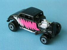 Matchbox 1933 Willys Street Rod Black Body USA Boxed Toy Model Car 65mm Muscle