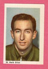 Herb Elliot Track & Field Vintage 1960 Hemmets Journal Sports Card from Sweden