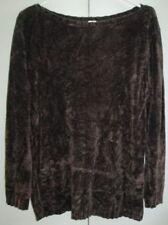 Ladies Target Size 14 Knit Jumper Brown
