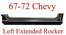 67 72 Chevy LEFT Extended Rocker Panel, Truck, GMC, 1.2MM Thick!!  897-03L