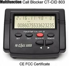 Cheeta Powerful Multifunction Call Blocker With Call ID Display,Block All Spam