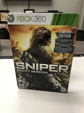 Sniper Ghost Warrior Limited Edition Steelbook Xbox 360 2010 No Manual
