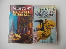 Paula Volsky the curse of the witch-queen / the luck of relian kru 2 pbs