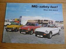 Mg Midget B & BGT brochure 1978 3264 / B JM
