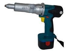 Professionnel Piles Pistolet À Rivets Riveteuse Outil De Rivets+5x Gesipa 3x6mm