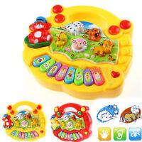 Kids girl Musical Educational cartoon Piano Developmental Toys Game Baby Gift