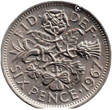 More details for 6 pence coin 1967 elizabeth ii