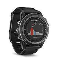 NEUF Garmin Fenix 3 Sapphire HR Montre de sport GPS Running Activity Monitor-Noir
