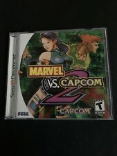 Marvel vs. Capcom 2 (Dreamcast, 2000) Case And Manual Only