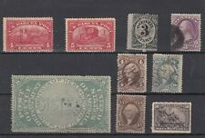 Usa early used parcels, revenues 19th century