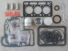 Kubota D950 Overhaul / Rebuild Kit (Pistons Rings Bearings Gasket Set)