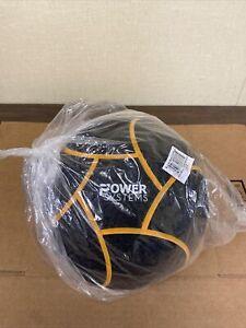 Power Systems Elite Power Medicine Ball 18 Pounds Black/Orange