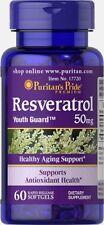 Resveratrol 50 mg 60 capsules, antioxidant