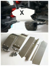 VER3 X-MAXX XMAXX 6S 8S Stainless Steel Skid Plate Chassis Armor Battery Protect