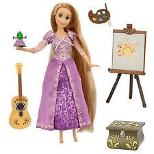 "Disney Princess Tangled  11"" Rapunzel Deluxe Talking Doll Set NIB"