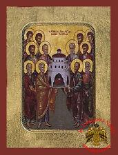 Orthodox Icon Synaxis of the twelve Saint Apostles Size 18x24 cm Orthodoxe ikone