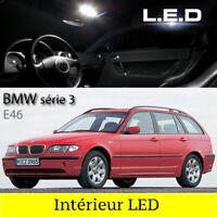 Kit ampoules à LED éclairage intérieur blanc  BMW Touring  E46 série 3 Break