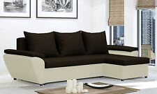 Corner Sofa Bed JACOB  - Brand New - Chep from PRODUCER - Washable Farbic