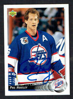 Phil Housley #276 signed autograph auto 1992-93 Upper Deck Hockey Card