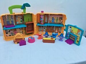 The Furchester Hotel Sesame Street Playset Cbeebies Elmo Toy