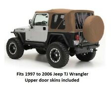 Jeep Replacement Soft Top with Tinted Windows for 97-06 Jeep TJ Wrangler - Spice