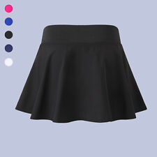 Women's Active Sport Skirted Shorts Pleated Tennis Golf Skirt Stretch Casual Fit