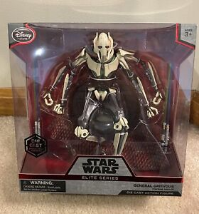 Star Wars Disney Elite General Grievous *NEW IN BOX* Action Figure Black Series