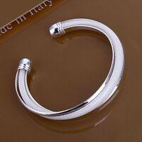 ASAMO Damen Armreif 925 Sterling Silber plattiert Schmuck Armband Schmuck