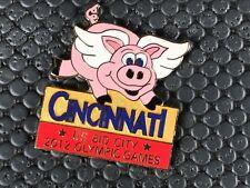pins pin OLYMPIC JO  OLYMPIQUE CINCINNATI 2012 COCHON PIG