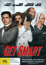 Get Smart - Comedy / Adventure / Action - Steve Carell, Anne Hathaway - NEW DVD