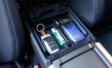 2014-2018 for Range Rover Evoque  Black Plastic Interior Armrest Storage Box 1*