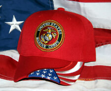 US MARINES SEAL EGA LOGO HAT VETERAN FMF MAW MAR DIV WOWMH USMC GIFT CAP WOW