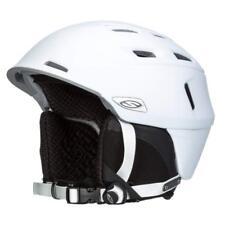 Smith Optics Camber Adult Ski Snowmobile Helmet (Matte White / Medium Size)