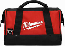 Milwaukee Tool Bag Storage Case Canvas Contractor Tote M18V M12V Drill Impact