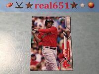 2020 Topps No Logo #314 RAFAEL DEVERS Missing Foil Variation | Boston Red Sox SP