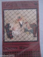 "Cotton Way A Bit of Christmas 3 4"" Ornaments or Pin Patterns  Pattern ONLY Wood"