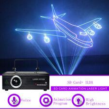 500mw SD Card RGB Animation DMX ILDA Laser Projector DJ Party PRO Stage Lighting