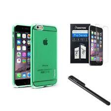 Étuis, housses et coques avec clip vertes transparentes pour téléphone mobile et assistant personnel (PDA)