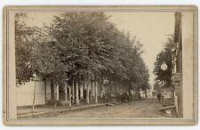 Civil War Baton Rouge CDV Street Scene by McPherson & Oliver c1863