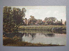 R&L Postcard: Wilton Castle from River Wye, Peacock