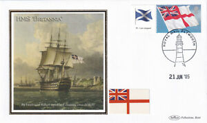 (37801) GB FDC White Ensign Generic Plymouth 2005