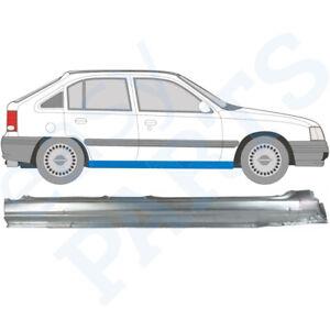 Opel Kadett E 1984-1993 4/5 Tür Voll Schweller Reparaturblech  / Rechts