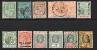 Mauritius 11 Stamps Mounted Mint Hinged and Used (7359)