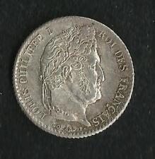 1/4 Franc Argent Louis Philippe I ; PCGS : MS 64