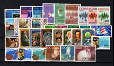 1972 Portugal Complete Year MNH Stamps.