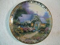 """""""Weathervane Hutch"""" 2nd Issue Places in the Heart Thomas Kinkade Collector Plate"""