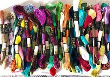 Nuevas 25 Madejas de hilo Algodón 100% Colores Surtidos Punto de Cruz ( Anchor )