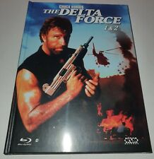 Delta Force 1 + 2 - Limited Mediabook Edition - NSM - Blu-ray - NEU - OVP